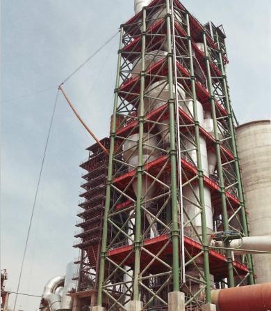 宝鸡凤凰山水泥厂低温余热发电工程